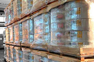 Optimizes warehouse spaces allowing to stock more drip tape
