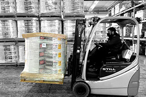 Optimized packaging means reduced handling operations